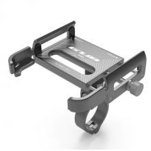 Держатель для телефона GUB P30 поворотный алюминиевый (Титан)