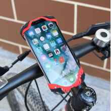 Держатель для телефона GUB P8 силикон+металл (Черный)
