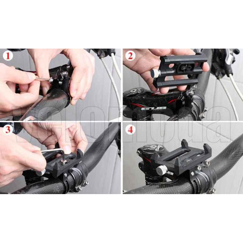 Держатель для телефона GUB G-83 (56-100 мм)