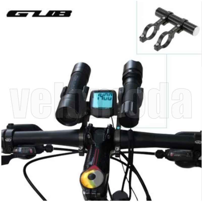 Расширитель велосипедного руля (экстендер) GUB-559 110 мм (черный)