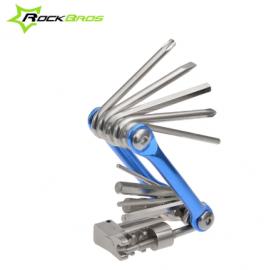 Набор инструментов для велосипеда RockBros GJ9809 7в1 под седло