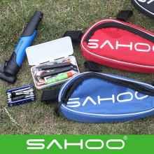 Набор инструментов для велосипеда Sahoo с насосом (треугольник)