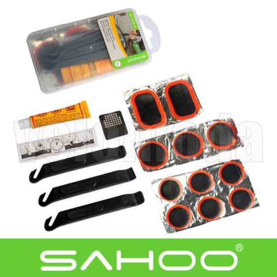 Велоаптечка, набор для ремонта шин 17 предметов Sahoo