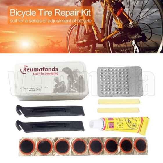 Велоаптечка, набор для ремонта велосипедных камер Tyre Mending