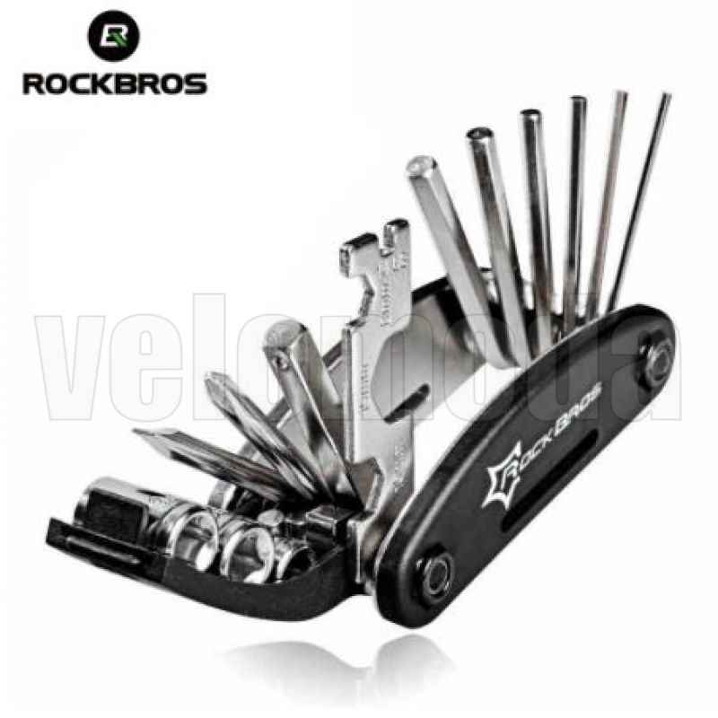 Набор инструментов Rockbros GJ1601 16в1 Мультитул