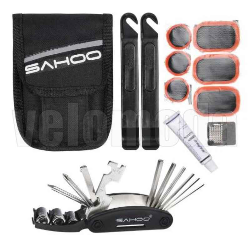 Набор инструментов для велосипеда Sahoo 7в1 21042 в сумочке