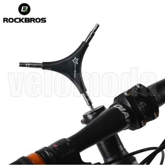Шестигранник эргономичный Rockbros GJ736 4,5,6mm