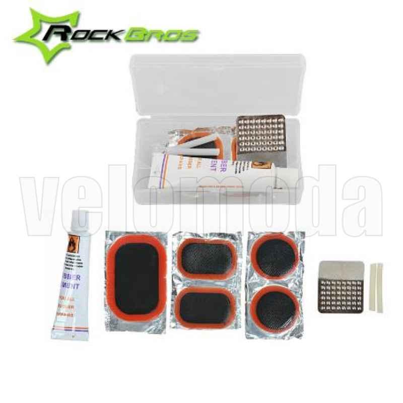 Набор инструментов для велосипеда Rockbros 9814 в сумке (черный)