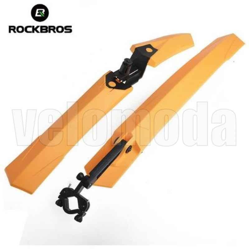 Щитки для велосипеда Rockbros WS1001 (оранжевый)