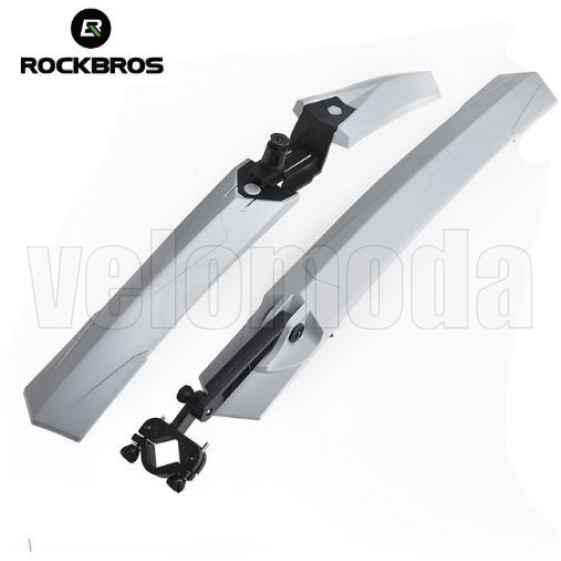 Щитки для велосипеда Rockbros WS1001 (серый)