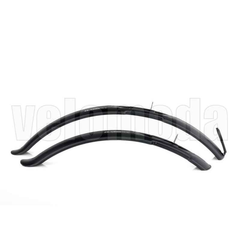 Комплект щитков грязезащитных SIMPLA CLASSIC SDE 24-26  (чёрный)