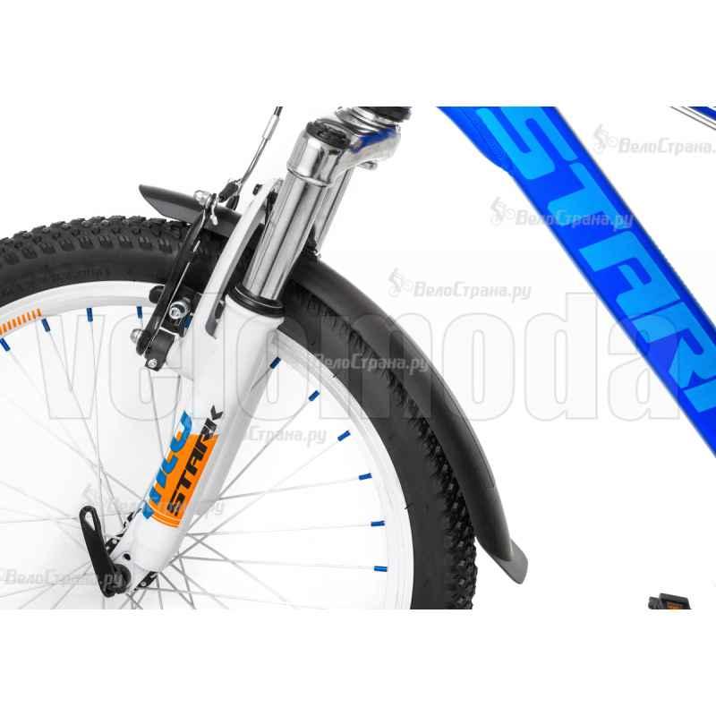 """Крылья 0-10080 пластик SKS-10080, Hightrek Junior-Set, 20-24"""" черные (Германия)"""